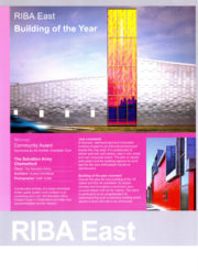 RIBA East Awards / The Salvation Army